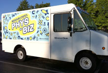 Phys-Biz trucks